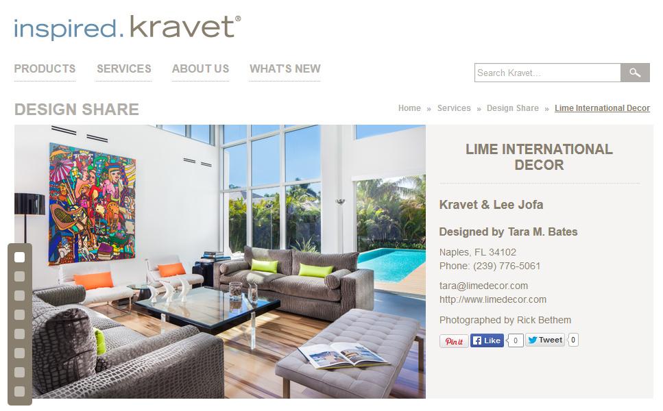 Featured in Kravet – June 2014