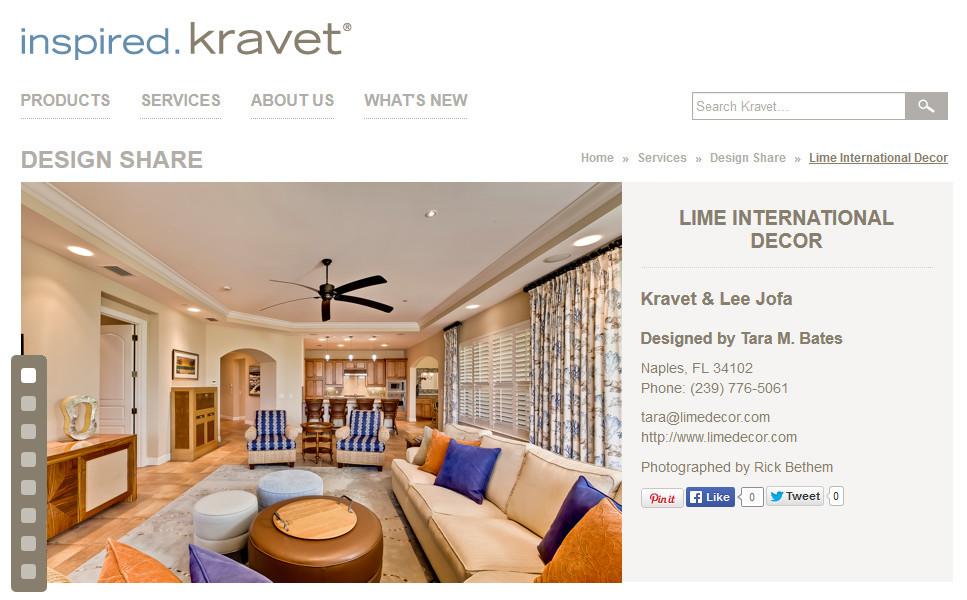 Featured in Kravet – 2013